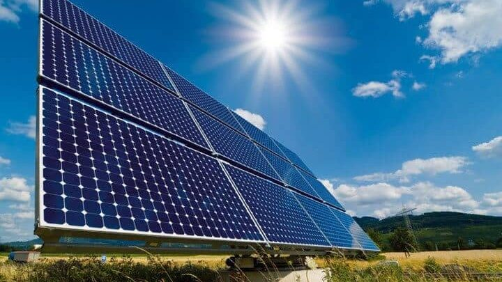 Solar energy, the cheapest green energy