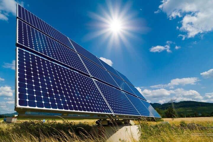 Solar energy, the cheapest green energy